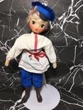 Кукла СССР паричковая (мальчик), 29 см