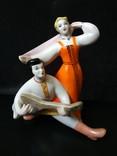 Русский танец с балалайкой. ЗХК Полонное