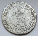 XV крейцеров 1686г. Архиепископа Зальцбурга Иоганна Эрнста.