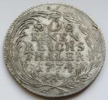 1/3 талера 1774а, короля Пруссии  Фридриха ., фото №3