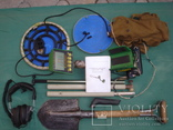 Металлоискатель Garrett GTI 2500 c лопатой и дополнительной штангой для катушки