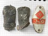 Велосипедные эмблемы 3 шт.