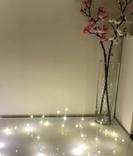 Гирлянда роса LED светодиодная. 2 метра Проволочная. На батарейках, фото №9