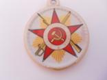 Фарфорова медаль. Учаснику обласного зльоту партизанів.