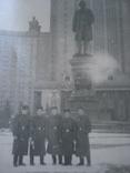 Группа военных на фоне Университета им. Ломоносова., фото №3