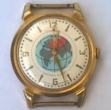 Часы спутник золото 20m