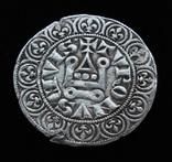 Турский грош 1285 г Филипп IV редкая вариация цветок звезда