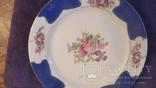 Старая фарфоровая тарелка Германия, фото №3