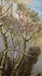 Картина Зима в селе 45×70 photo 3