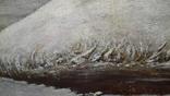 Картина Зима в селе 45×70 photo 6