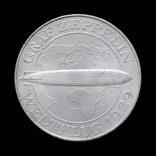 "5 Марок 1930 Полёт дирижабля ""Граф Цеппелин"", Германия"