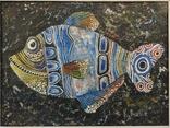 """Одесса, К.Ралле""""Рыба"""",к.м.,30*40см, фото №2"""