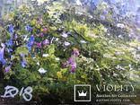 Пейзаж с мостиком маслом на холсте 35х25 photo 3