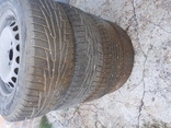 Резина зимняя с дисками 195/65 R-15