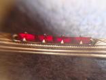 Зажим для галстука серебро 875 проба, 7 грамм photo 10