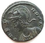 Коммеморативная бронза Константин I мон двор Antioch 330-333 гг н.э. (83_6) фото 2