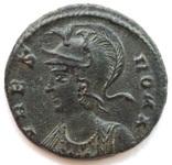 Коммеморативная бронза Константин I мон двор Antioch 330-333 гг н.э. (83_6) фото 3
