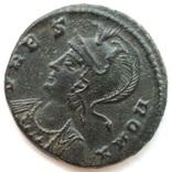 Коммеморативная бронза Константин I мон двор Antioch 330-333 гг н.э. (83_6) фото 4