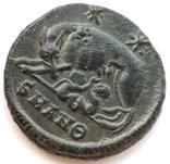 Коммеморативная бронза Константин I мон двор Antioch 330-333 гг н.э. (83_6) фото 7