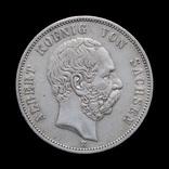5 Марок 1902 Альберт, Саксония