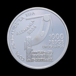 1000 Песо 2004 Футбол, Уругвай