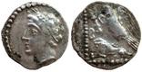 Обол Cilicia Tarsos 380 г до н.э. (25_98) фото 1