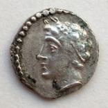 Обол Cilicia Tarsos 380 г до н.э. (25_98) фото 3