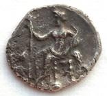 Обол Cilicia Tarsos Mazaios 361-334 гг до н.э. (25_103) фото 3