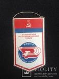 Вымпел Украинский спортивный комитет профсоюзов лыжи, спорт ссср, фото №3
