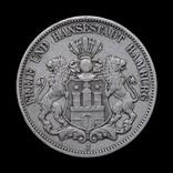 5 Марок 1894, Вольный Город Гамбург