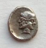 Гемиобол Cilicia Uncertain 400-380 гг до н.э. (25_123) фото 2