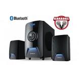 Колонки 2.1 REAL-EL M-570 Bluetooth, караоке
