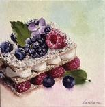 Мильфей, 30*30 см, серия Десерты (пирожное)