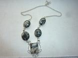 Ожерелье из дендрит опалов, фото №2