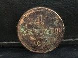 1 крейцер 1851 г. В, фото №3