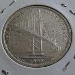 20 эскудо 1966 Португалия — Открытие моста Антониу Салазара, фото №5