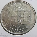 100 эскудо  1989  Открытие Азорских островов., фото №2