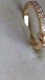Кольцо золото 585, вставки кристаллы Swarovski. photo 6
