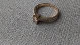 Кольцо золото 585, вставки кристаллы Swarovski. photo 8