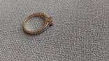 Кольцо золото 585, вставки кристаллы Swarovski. photo 9