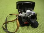 """Фотоаппарат """"Praktika"""" """"Практика"""" Практіка L2 объектив TESSAR 2,8/50 CARL ZEISS JENA DDR photo 2"""