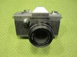 """Фотоаппарат """"Praktika"""" """"Практика"""" Практіка L2 объектив TESSAR 2,8/50 CARL ZEISS JENA DDR photo 3"""