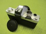 """Фотоаппарат """"Praktika"""" """"Практика"""" Практіка L2 объектив TESSAR 2,8/50 CARL ZEISS JENA DDR photo 5"""