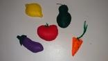 Овощи и фрукты из фетра, фото №2
