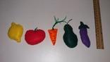Овощи и фрукты из фетра, фото №8
