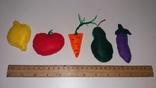 Овощи и фрукты из фетра, фото №9