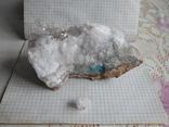 Кристалы на породе, фото №2