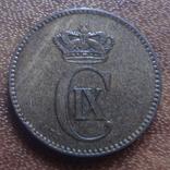 2  эре 1875 Дания    (М.5.14)~, фото №2