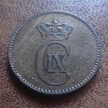 2  эре 1875 Дания    (М.5.14)~, фото №3