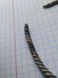Шейная витая гривна 8-9 век. Серебро. 26 грамм photo 12